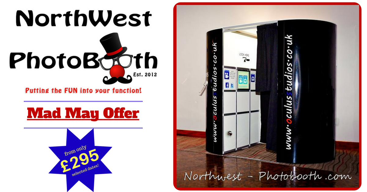 Photobooth offer - Mad May Offer