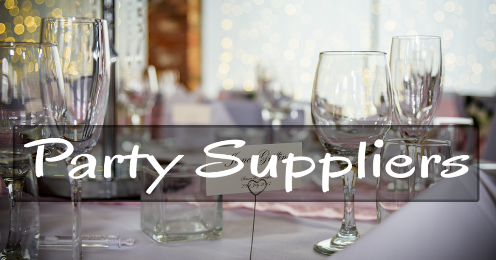 Recommended party suppliers in the North West