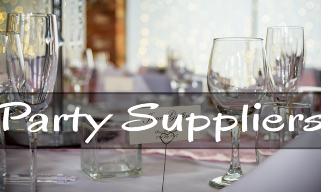 Recommended Party Suppliers